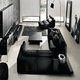 Черная мебель в современном интерьере